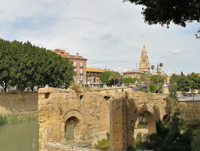 Visita a Murcia