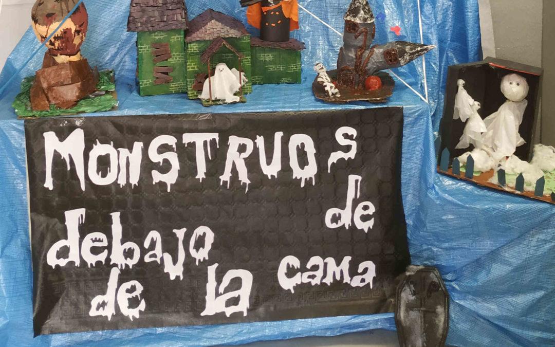 Concurso «Halloween reciclado»